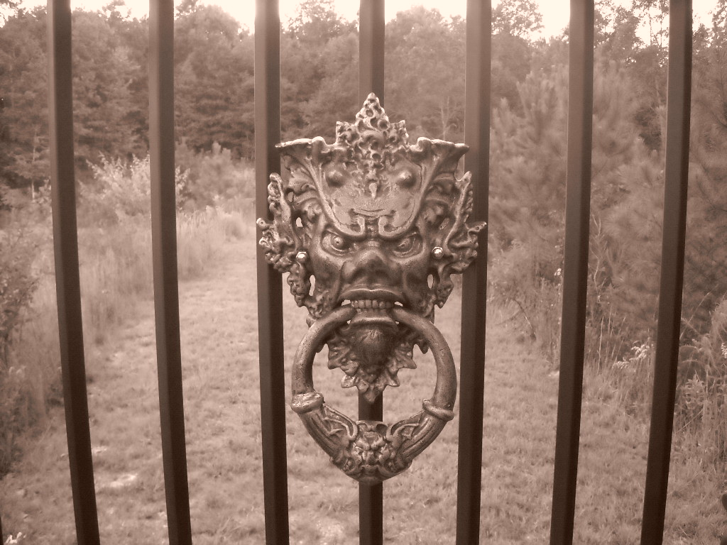 Gothic Gate S Ancient Of Days Art